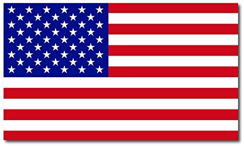 American Flag Car Magnet Decal - 7 x 12 Heavy Duty for Car Truck RV Boat SUV Waterproof ()