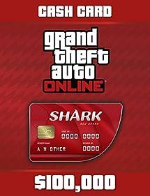 Grand Theft Auto V: G Red Shark Cash Card - PS4 [Digital Code]