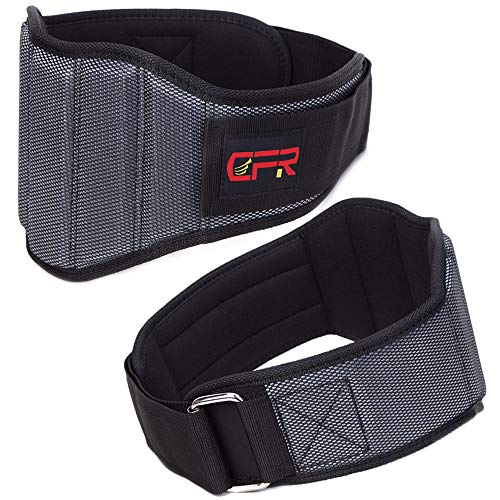 FITTOO Weightlifting Belt Lower Back Support - 13mm Thick Power Weight Belt - 7.5-inch Wide Pad Premium Quality Weight Lifting Belt for Powerlifting,Weight Lifting,Deadlift,Squat and Crossfit