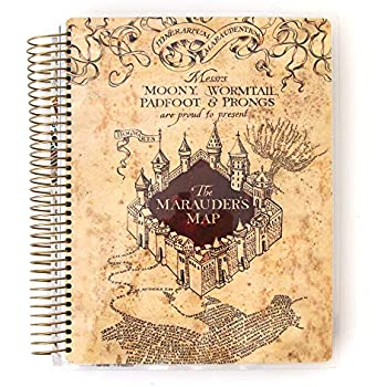 Amazon.com: Harry Potter Vintage Diary Planner Journal Book ...