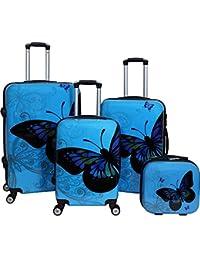 89e32bf68575 Amazon.com: Blues - Luggage Sets / Luggage: Clothing, Shoes & Jewelry