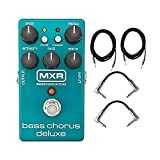 Dunlop MXR M83 Bass Chorus Deluxe With a Pair of