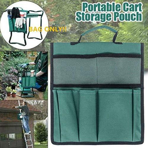 Lonsc Garden Kneeler Tool Oxford Taschen 12,2 X 11,8 Zoll Mit Griff Für Kniestuhl Garden Tool Bag