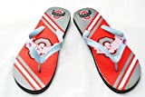 Ohio State Buckeyes Official NCAA Unisex Flip Flop Beach Shoes Sandals slippers size Large