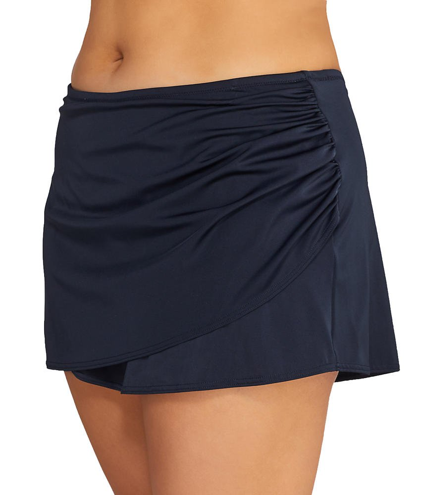 e020eec30d Elomi Essentials ES7619 Black Wrap Skirted Swim Brief: Amazon.ca: Sports &  Outdoors