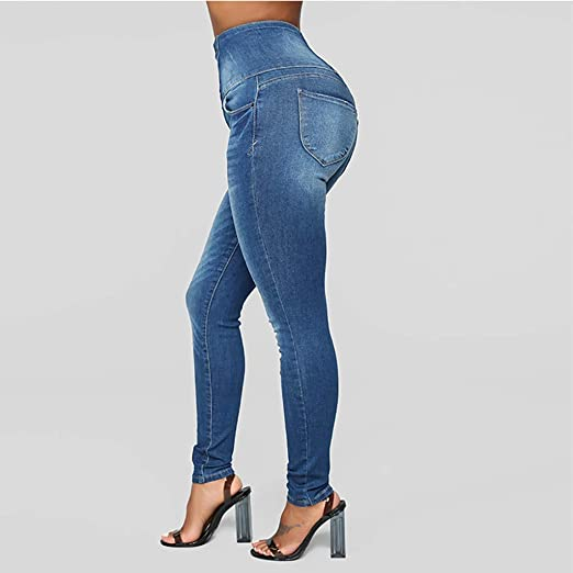 2019 New Womens Skinny Jeans, E-Scenery Juniors High Rise ...