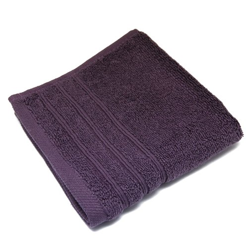 Pretty Valley Ultra Soft Wash Cloth - Plum Purple (33cm x 33cm) B00HBGDFJO