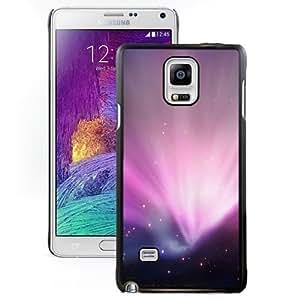 Beautiful Unique Designed Cover Case For Samsung Galaxy Note 4 N910A N910T N910P N910V N910R4 With Leopard Aurora Black Phone Case