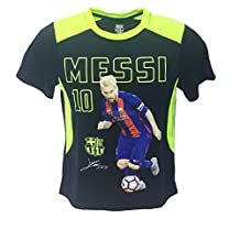 HKY Kids Messi Jersey, FC Barcelona Messi Photo Jersey, All Youth Sizes