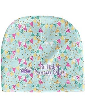 Birthday Princess Baby Hat (Beanie) (Personalized)