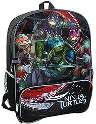 Teenage Mutant Ninja Turtles Movie Backpack Black/Red