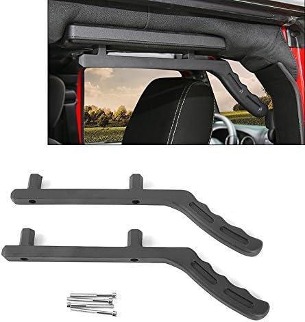Rear Aluminum Roll Bar for Jeep Wrangler JK JKU Sports Sahara Freedom Rubicon X Unlimited X 2//4 Door 2007-2018 Grab Handles JK Grab Bars
