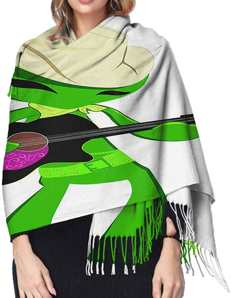 Bird Crane Shawl Wrap Scarf Unisex Fashionable