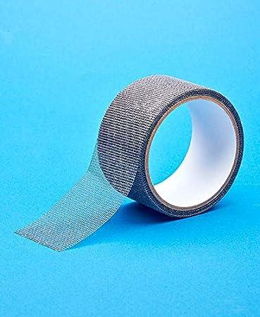 Window U0026 Door Fiberglass Mesh Screen Instant Repair Tape (30 Feet, Silver)