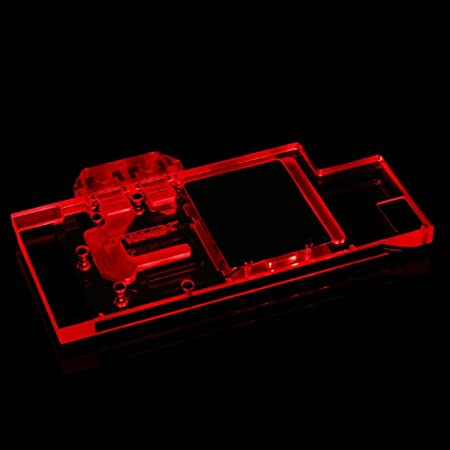 Amazon.com: B BYKSKI RGB LED VGA GPU Water Cooling Block for ASUS ROG Strix GTX 1080TI 1080 1070 1060: Computers & Accessories