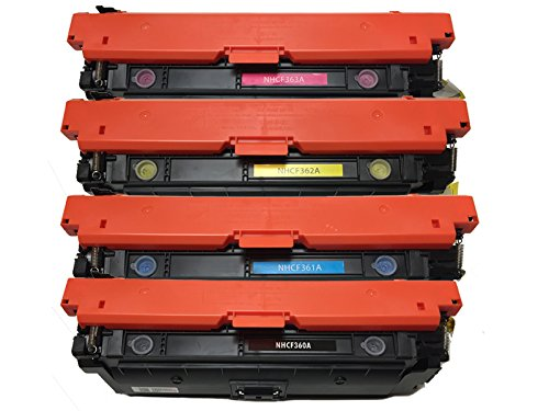Generic Compatible Toner Cartridge Replacement for HP 508A ( Black,Cyan,Magenta,Yellow )