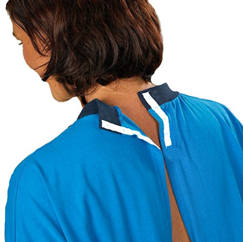 4Care 4Care 4Care Pflege Nachthemd, für Damen und Herren, Jersey, mit offenem Rücken, Klettverschluss vorne und Druckknöpfe im Nacken. B004GADFTI Spezielle Anlsse & Arbeitskleidung Sorgfältig gefertigt c5497b