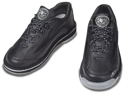 3G Mens Sport Ultra Bowling Shoes- Black/Gold Size 11 1/2 Right Hand by 3G