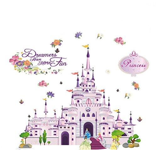 Generic Princess Castle Sticker Nursery