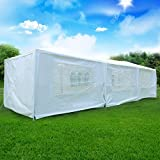 Acfun Walls10' x 30' Canopy Party Outdoor Wedding Tent Gazebo Pavilion Cater Events