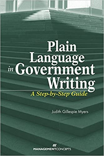 banishing bureaucratese using plain language in government writing