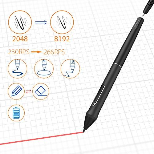 XP-PEN Artist 22E Pro HD IPS Grafikmonitor Drawing Tablet 8192