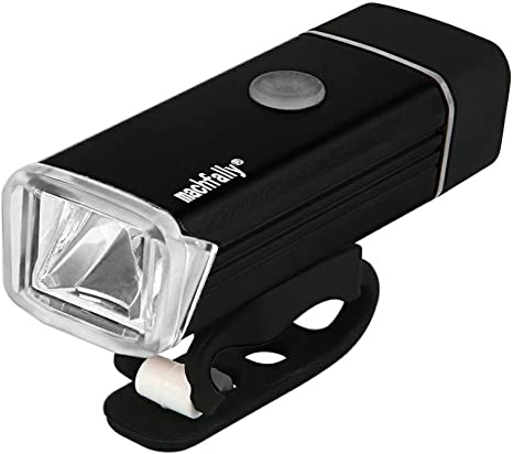 Machfally 180 Lumenes + CREE XPE LED USB Recargable Bicicletas ...
