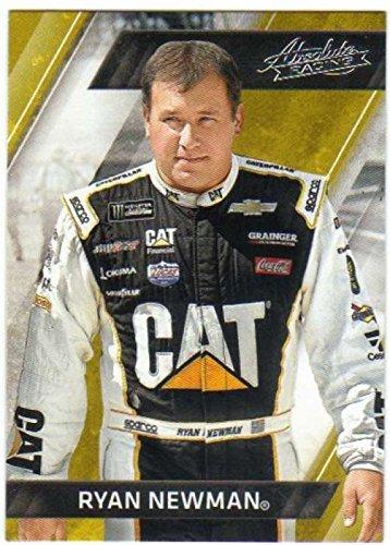 2017 Panini Absolute Racing #39 Ryan Newman Caterpillar/Richard Childress Racing/Chevrolet Official NASCAR Trading - Richard Racing Childress