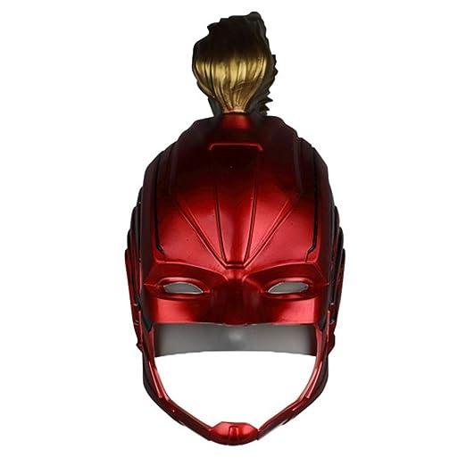 Hope Máscara de capitán Marvel PVC Blando Rojo Verde Fiesta de ...
