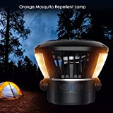 HelloCreate 4000mAh Camping Fan with Night
