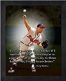 Greg Maddux Atlanta Braves Pro Quotes Photo