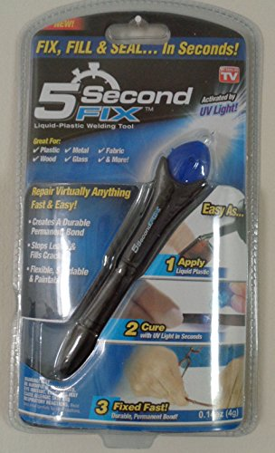 5 Second Fix UV Light Repair Tool Glue Super Liquid Plastic Welding