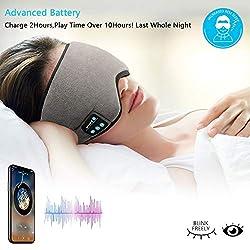 Bluetooth Sleeping Eye Mask with Headphone