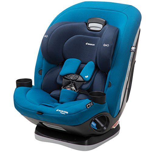 Cheap Maxi-Cosi Magellan 5-in-1 Convertible Car Seat for Infant, Toddler, Child, with 1-Click Latch and Base, Blue Opal