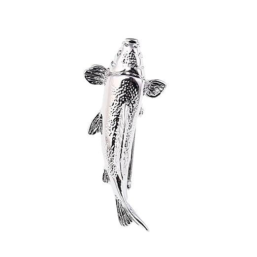 kesheng Hombre corbata Aguja Alfiler de Corbata pescado alas ...