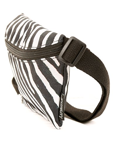 Cute Zebra - FYDELITY- Ultra-Slim Fanny Pack: ZEBRA | Cute, Kawaii, Fun, Kitty, Funky, Kitten, Festival