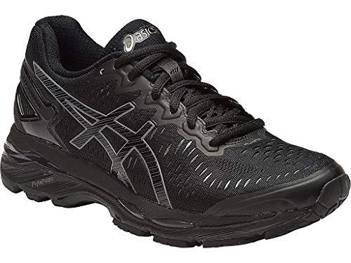 (ASICS Women's Gel-Kayano 23 Running Shoe, Black/Onyx/Carbon, 6 M US)