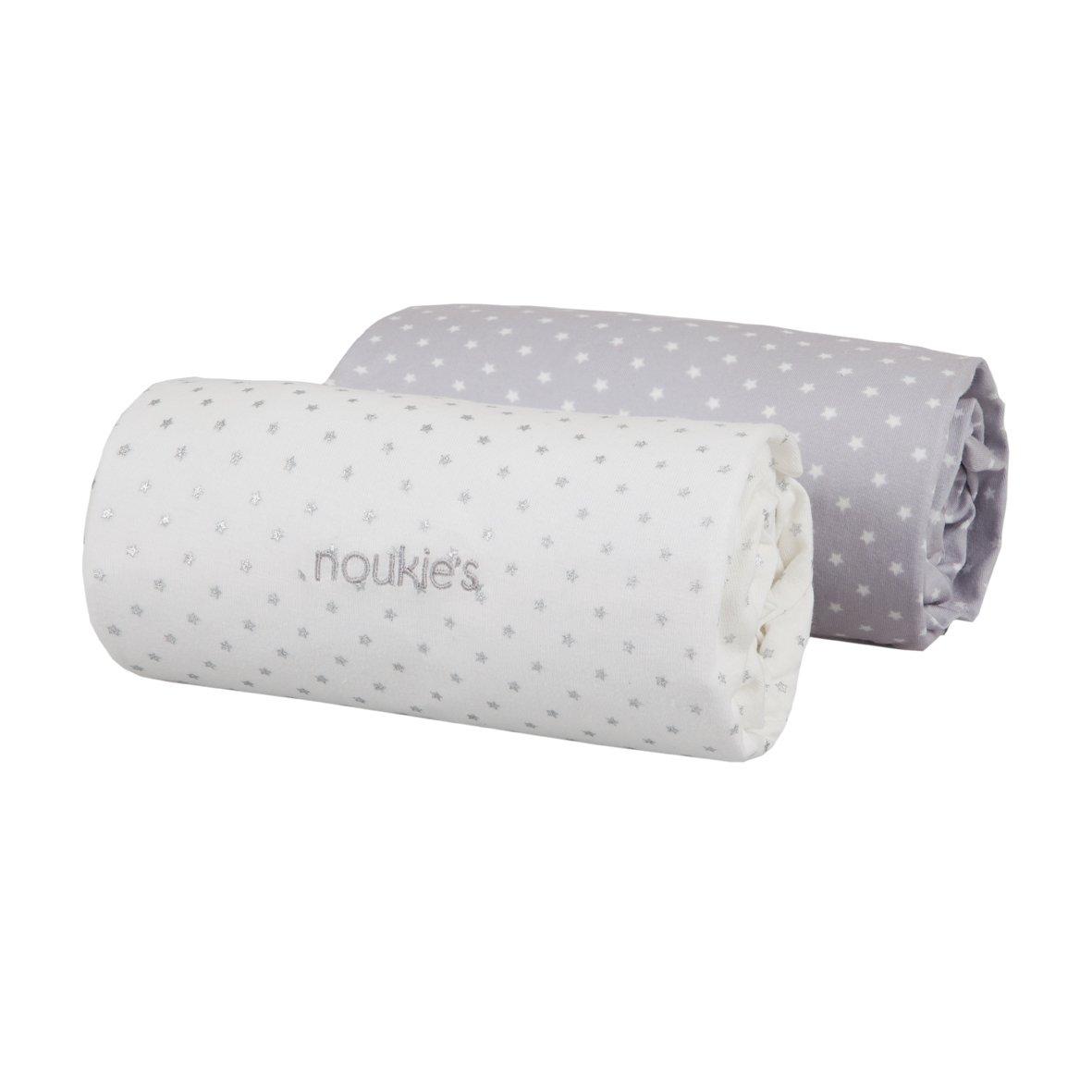 drap housse 120x60 Noukies Draps Housse Mix & Match 60X120cm: Amazon.fr: Bébés  drap housse 120x60