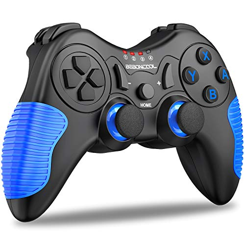 Switch Controller, Controller for Nintendo Switch with Motion & Dual Vibration, Wireless Controller for Switch with Bluetooth
