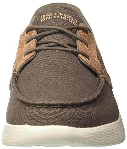 Skechers Verde Go Scarpe da Seas Barca Glide Khaki On High The Uomo vrwvC