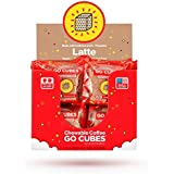 HVMN GO CUBES Energy Chews, Latte Coffee Flavored, 4 count chews (20 Pack)