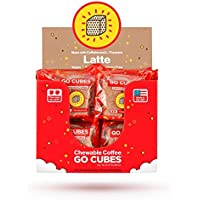 GO CUBES 能量咀嚼块,拿铁咖啡口味,4块(20包)