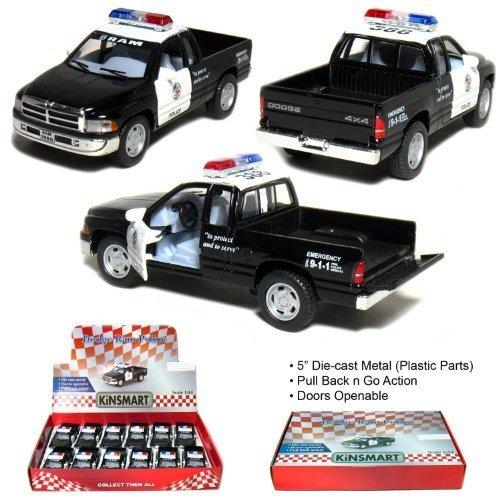 """12 pcs in Box: 5"""" Dodge Ram Police Pickup Truck"""