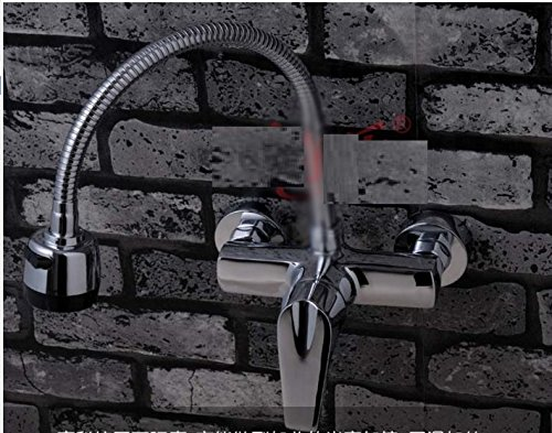 AWXJX Mixer Water Tap kitchen copper Into the wall