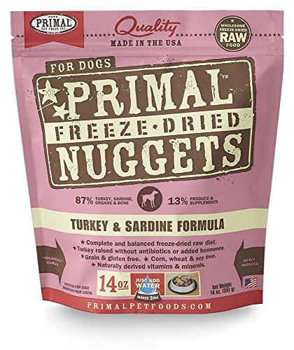Primal Pet Foods Freeze-Dried Canine Turkey and Sardine Formula, 14 (Pet Turkey)