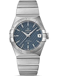 Omega Constellation Blue Dial Stainless Steel Automatic Mens Watch 12310382103001