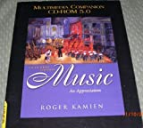 Multimedia Companion CD-ROM 5. 0 t/a Music : An Appreciation, Brief Edition, Kamien, Roger, 0072966580