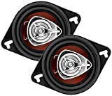 BOSS Audio CH3220 140 Watt (Per Pair), 3.5 Inch, Full Range, 2 Way Car Speakers (Sold in Pairs)