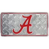Alabama Crimson Tide Diamond License Plate Tin Sign 6 x 12in