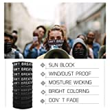 3pcs BLM Face Mask for Men&Women Motorcycle Hiking
